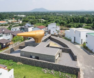 Wind House by Moon Hoon, Jeju Island