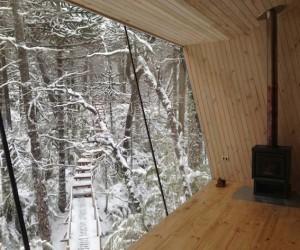 Winter Cabin by MC2 Architecture
