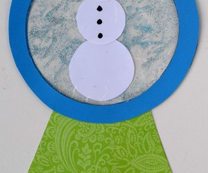 Winter Crafts Made with Glitter