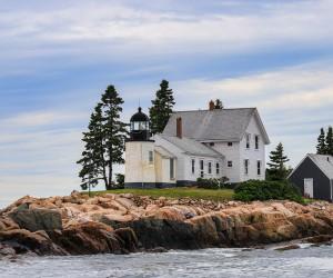 Winter Harbor Lighthouse - Mark Island, Maine