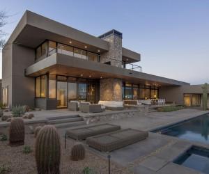 Winter Retreat Located in the Arid Desert of Scottsdale, Arizona