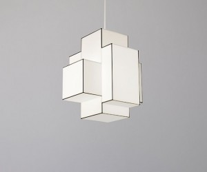 Wireshade Lamp by Marc Trotereau
