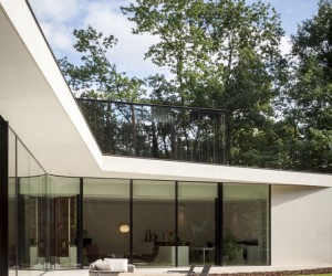 Wonderful House Owned by a Butterfly Collector Surrounded by Immense Trees and Enveloped by Nature