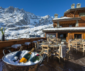 Wonderful Resort in the Mountains of Breuil-Cervinia, Italy