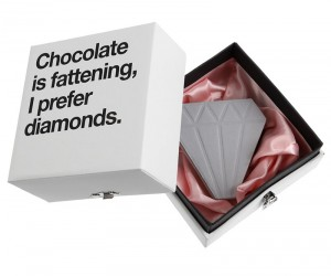 Wonderfully Boxed Diamond Shaped Notepads from Papelaria