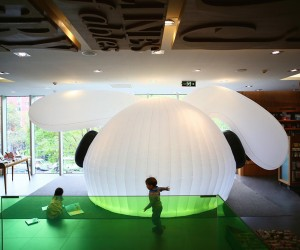 Wonderland Flexible Reading Space by MAD architects