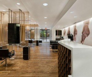 Wood Components by JB Cutting featured in Award Winning Salon