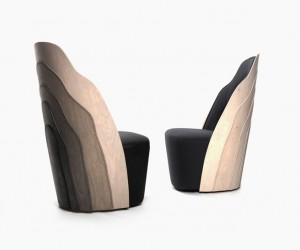 Wood Layer Armchair by FRG BLANCHE
