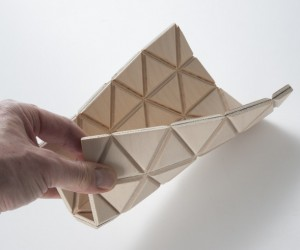 Wood-Skin: Origami Furniture