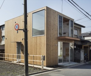 Wooden Box House by Suzuki Architects