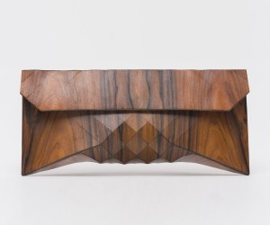 Wooden Clutch by Tesler  Medelovitch