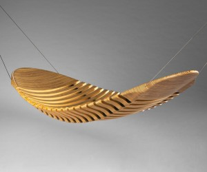 Wooden Hammock by Adam Cornish
