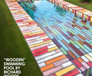 Wooden Swimming Pool by Richard Woods