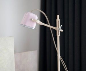 wooden table lamp MOB PASTEL