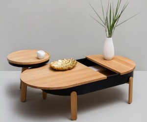 Woodendot Batea Table Collection