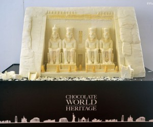 World Landmarks Sculpted in Chocolate