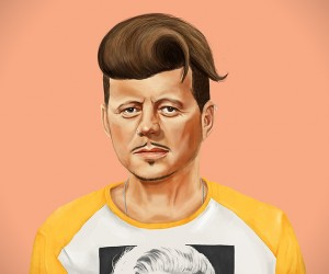 World Leaders Reimagined as Hipsters
