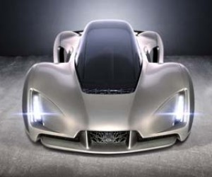 Worlds First 3D-Printed Supercar