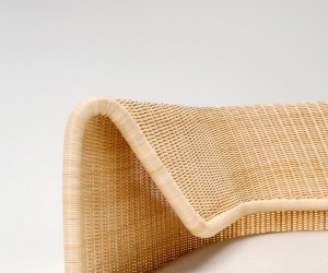 Wrap Collection Rattan Sofa by Hiroomi Tahara