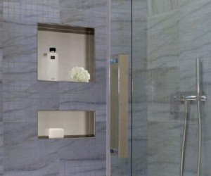 Y Shelf by Neelnox - Stainless Steel Shower Niches  Shelves