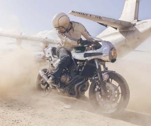 Yamaha MT-07 Faster Sons by Shinya Kimura