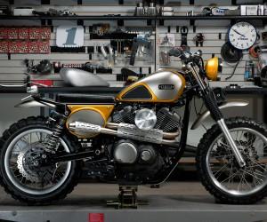Yamaha Yard Built SCR950 by Jeff Palhegyi Designs