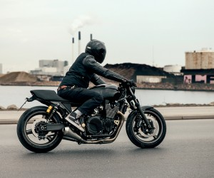 Yamahas Uard Built XJR 1300 Skullmonkee