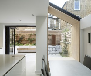 YARD Architects Adds Lined Extension to Victorian House