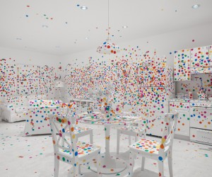 Yayoi Kusamas Give Me Love Exhibit in New York