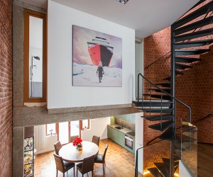 YCL Studio Renovates A 1970s Brick House in Brussels
