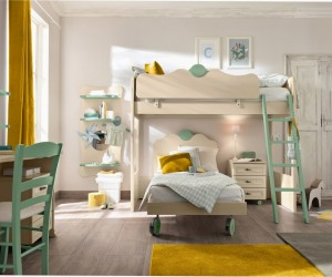 Yellow & Green | Kids' Bedroom