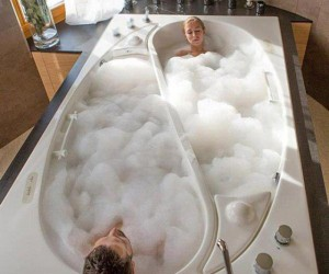 Yin Yang Couples Tub by Trautwein