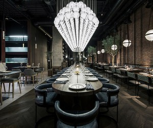 YoDezeen Restores Fish Restaurant CATCH in Kiev