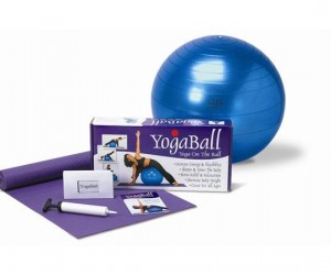 Yoga on the Ball Yoga Ball set from SPRI