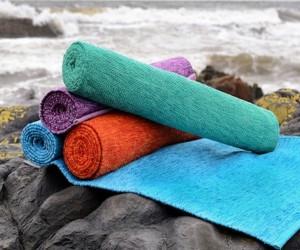 YOGISPUN: Eco-Friendly Cotton Yoga Mat