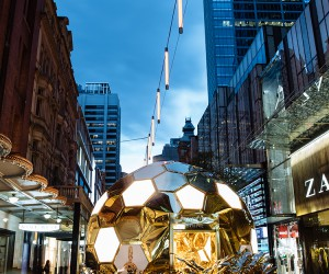 YouStudio Creates Beehive-shaped Pavilion For Pandora in Sydney