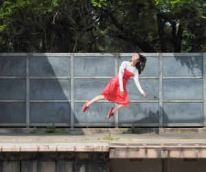 Yowayowa Camera Woman Diary: Levitating Self-Portraits by Natsumi Hayashiara