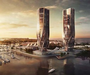 Zaha Hadid Designs Two Towers for Australias Gold Coast