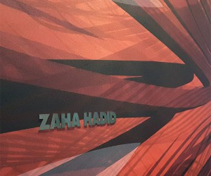 Zaha Hadid Hommage - Limited edition Wallpaper