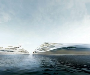 Zaha Hadid Yacht concept to buyers