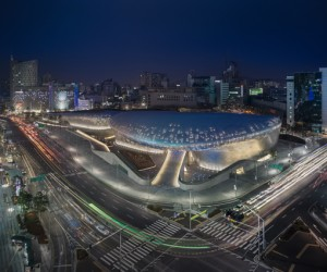 Zaha Hadids Dongdaemun Design Park Plaza [VIDEO]