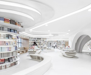 Zhongshu Bookstore Xian by Wutopia Lab, China