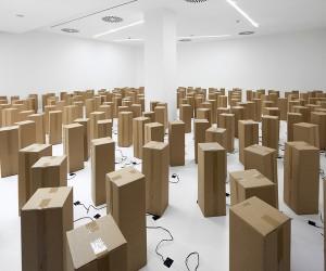 Zimouns Dancing Cardboard Boxes
