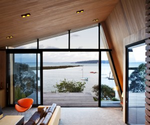Zinc  cedar architecture in Auckland