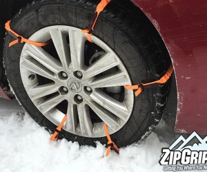 ZipGripGo: Emergency Snow and Ice Traction Aid