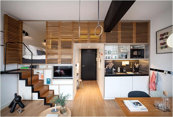 Zoku loft micro apartments for Planimetrie micro loft