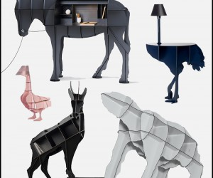Zoomorphic Furniture by Benit Convers