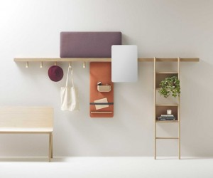 Zutik: new wall-mounted system